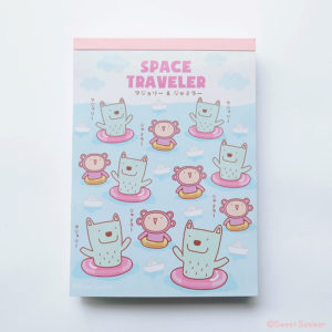 Notepad  NP1603 Space traveler Paper boat