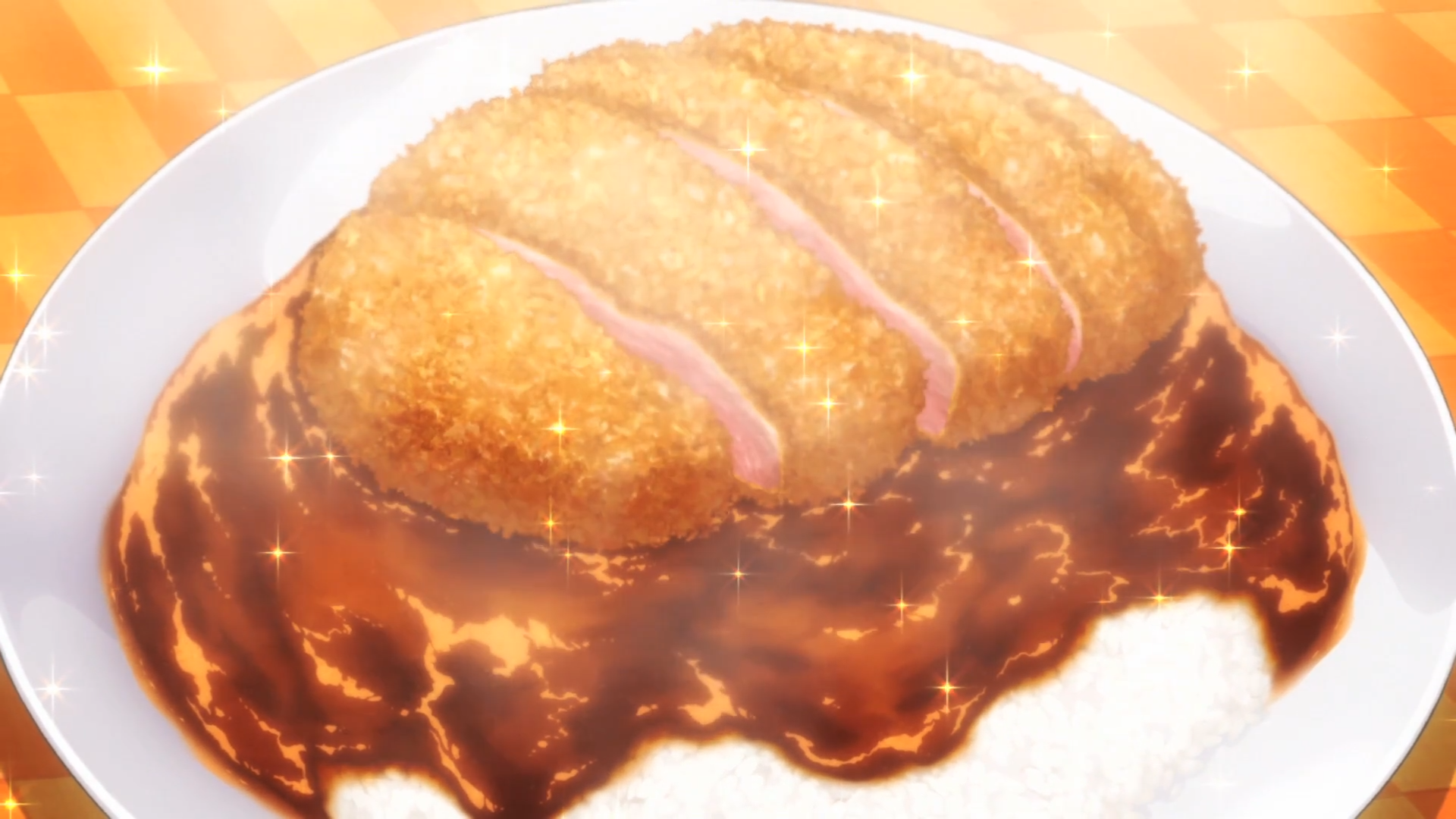 Duck_Cutlet_Curry_(Anime)