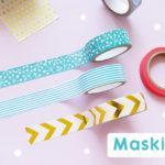 ไอเดีย…เปลี่ยนของธรรมดาๆให้น่ารักด้วย Masking Tape